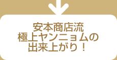 安本商店流極上ヤンニョムの出来上がり!